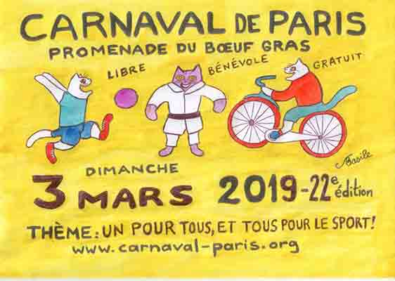 کارناوال پاریس 2019