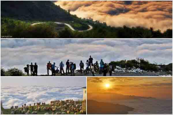 فیلبند مازندران روستائی بر فراز ابرها | روستاهای ایران