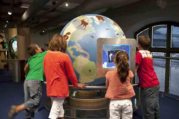 Musée-National-d'Histoire-Naturelle-Galerie-des-Enfants-Mezzanine-Globe-Terrestre