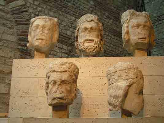 سر پادشاهان یهود که در سال 1977 پیدا شدند