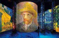 شاهکارهای ونسان ون گوگ در آتلیه نور پاریس | Atelier des Lumieres