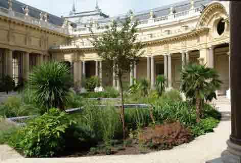 le petit palais jardin