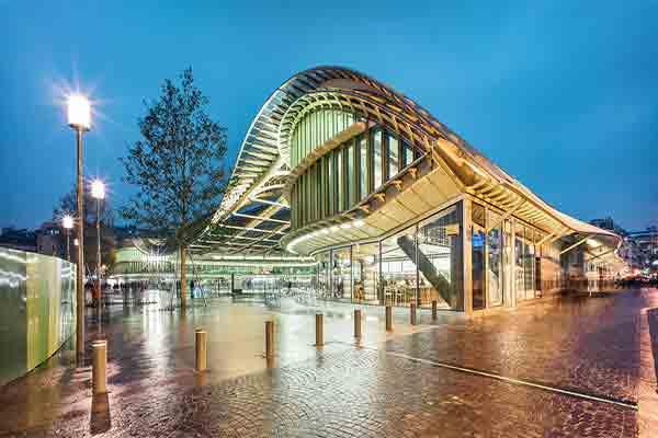 مرکز خرید فروم دز ال , Le Forum des Halles