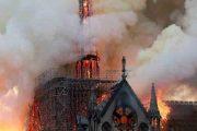 آتش در بنای مذهبی تاریخی نتردام پاریس