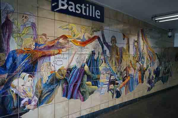 La Bastille Gardien du Passé