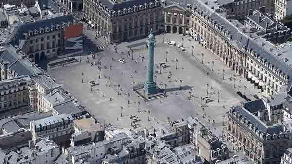 میدان های پاریس