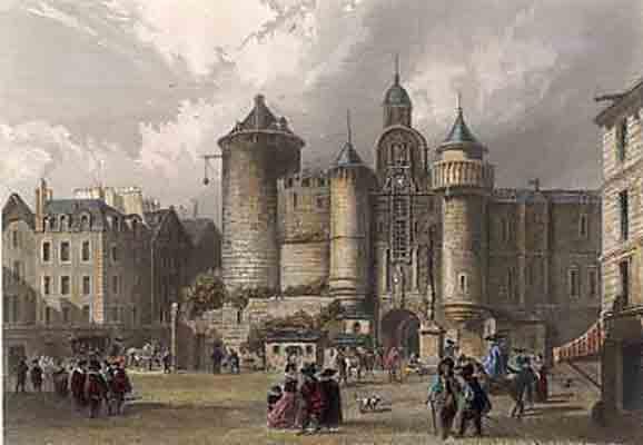 اماکن تاریخی ناپدید شده پاریس