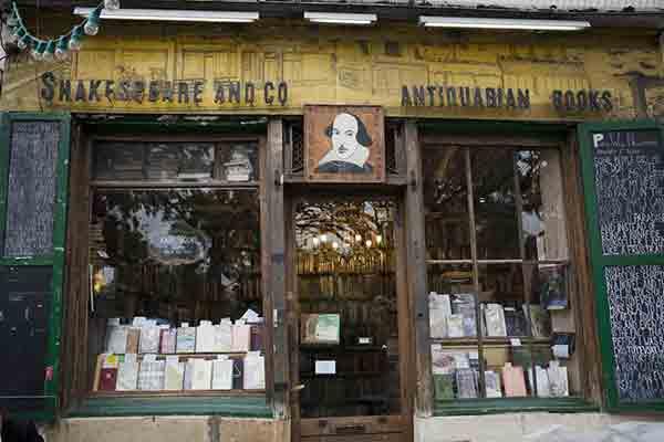 La librairie Shakespeare and Company