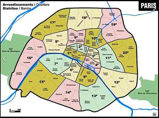 منطقه یک پاریس