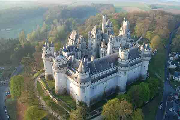 قصرهای زیبای نزدیک پاریس